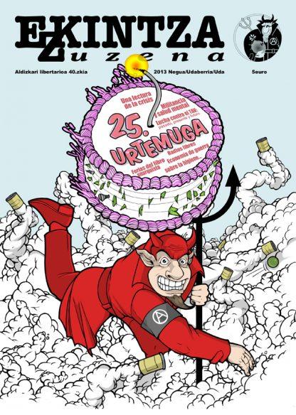 Ekintza Zuzena 40 portada