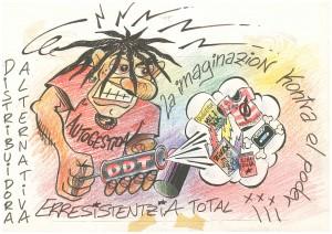 2005 dibujo pelos fumigador DDT