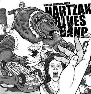 HARTZAK BLUES BAND / MUSIKA ALDARRIKATZEN