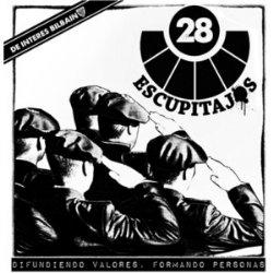 28 ESKUPITAJOS / DIFUNDIENDO VALORES... (LP+CD+FANZINE)