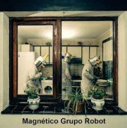 MAGNETICO GRUPO ROBOT. Post punk cibernético