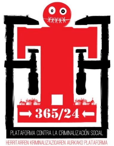 logo plataforma contra la criminalización social