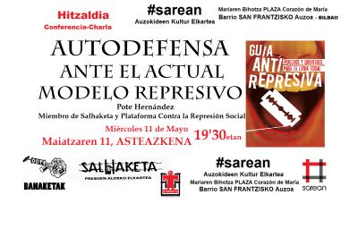 11 mayo 2016 miercoles represion pote hernandez sarean ddt salhaketa