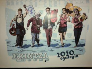 Calendario Ekintza Zuzena 2020